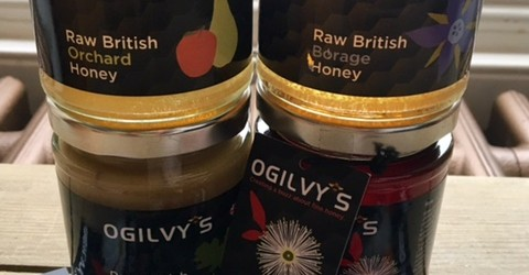 I recently had the opportunity to sample several honeys from the Ogilvy's Honey range. Honey is used as a natural sweetener in several of the recipes in my recent book...